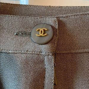 Chanel skirt with belt